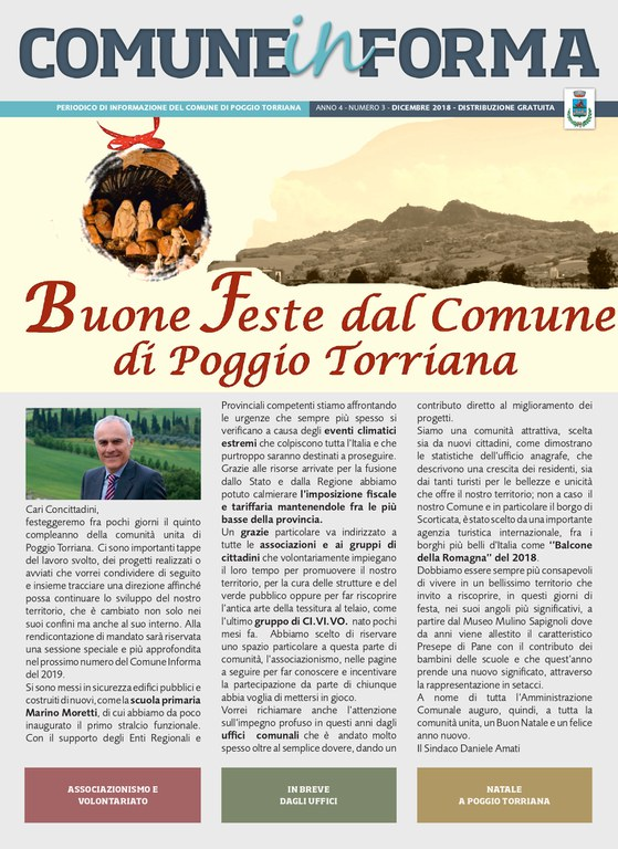 Comune Informa n. 1/2018