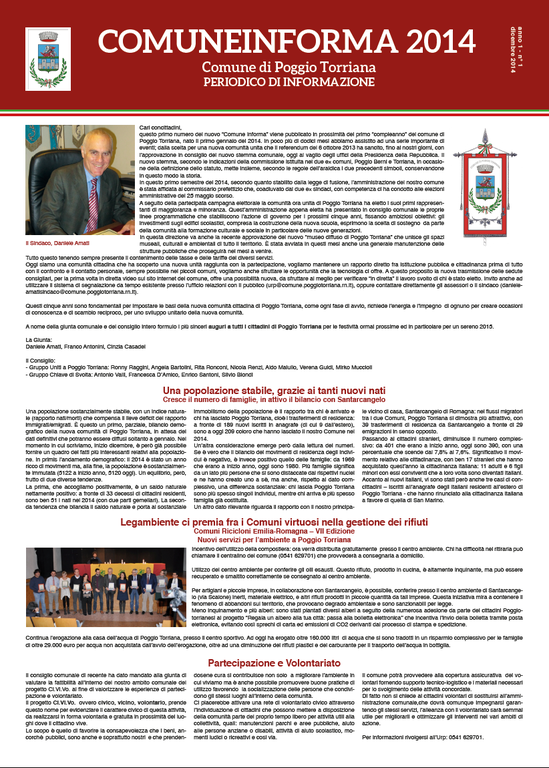 Comune Informa n. 1/2014