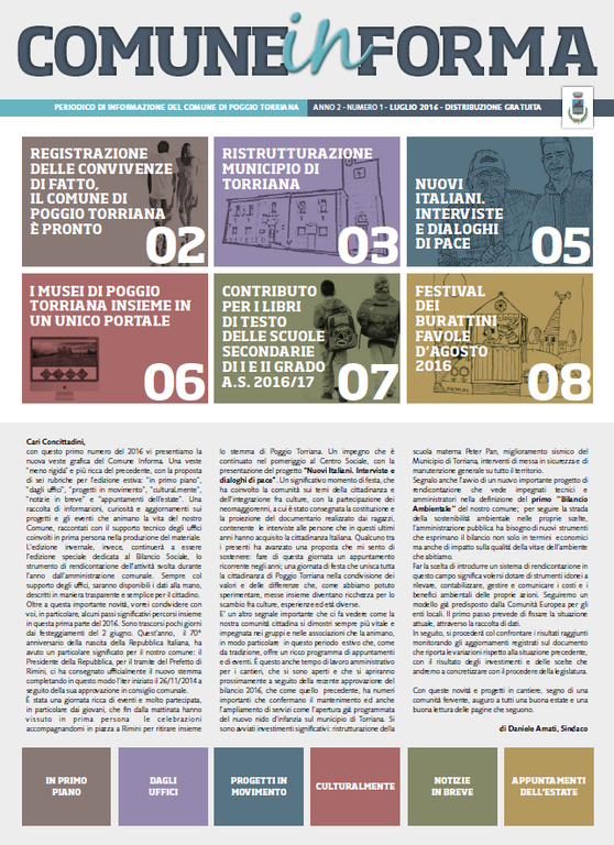 Comune Informa n. 1/2016