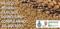 12° Compleanno del Museo Mulino Sapignoli