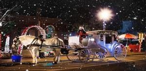 Carro di Babbo Natale 2019