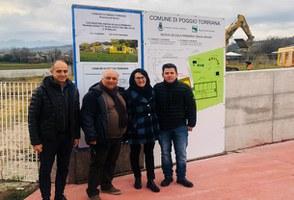 Lunedì 20 gennaio iniziati i lavori di realizzazione del secondo stralcio della nuova scuola primaria Marino Moretti