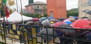 Poggio Torriana, in tanti sotto la pioggia a commemorare i caduti di tutte le guerre