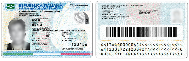 Carta d\'identità elettronica (CIE) — Comune di Poggio Torriana